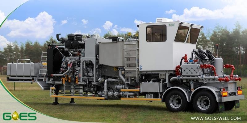 Twin_pump_trailer_GOES_Oilfield_Industry_Equipment