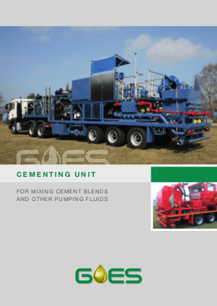 GOES_Cementing_Unit_data_sheet