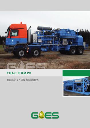 GOES_Frac_Pumps_Truck_Skid_data_sheet