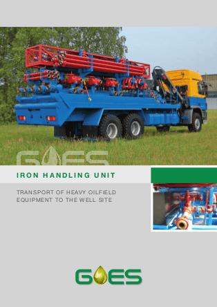 GOES_Iron_Handling_Unit_data_Sheet