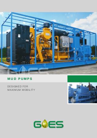 GOES_MUD_Pumps_data_sheet