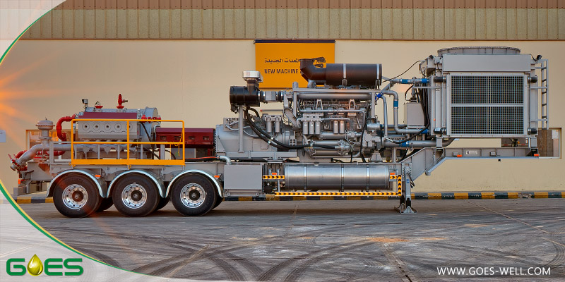 Frac_pump_Middle_East_style_GOES_Oilfield_Equipment