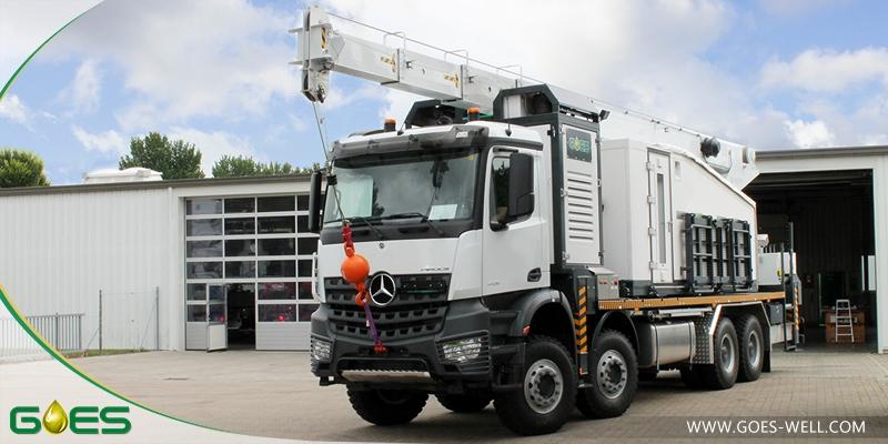 Wireline Crane Truck - Dual drum Slickline and Wireline winch
