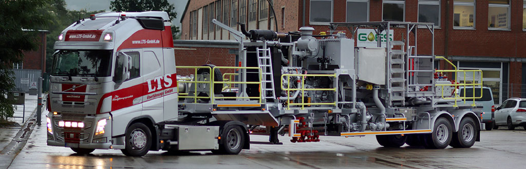 We are manufacturing Single Pump Trailer Units for our clients all over the world.