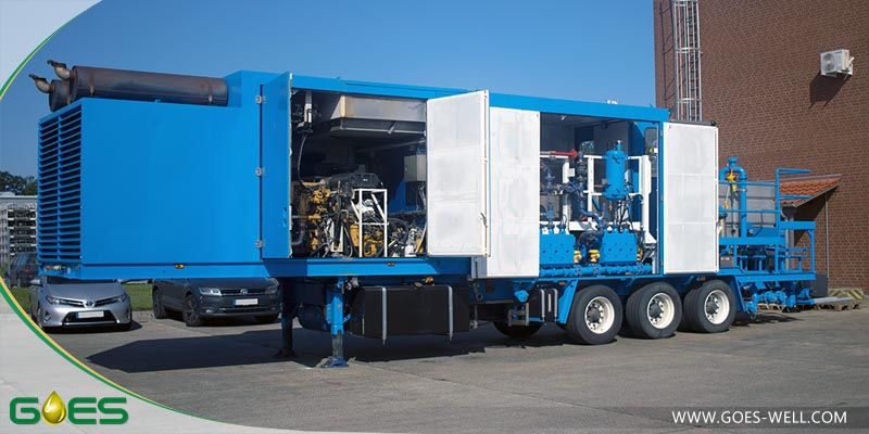 Twin Pump Trailer manufactured by GOES for sale